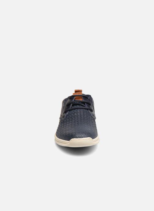 Baskets Bullboxer JACQUES Bleu vue portées chaussures