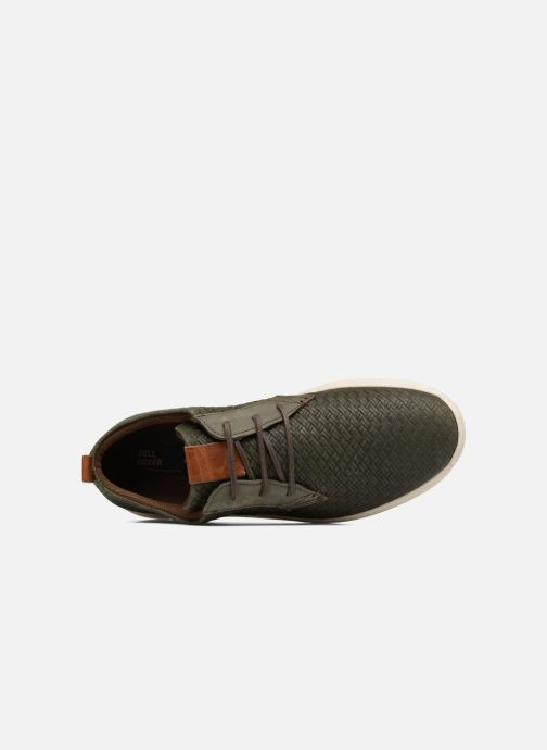 Sneakers Bullboxer JACQUES Verde immagine sinistra