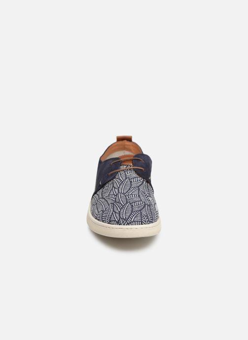 Baskets Kost Joueur 55A Bleu vue portées chaussures
