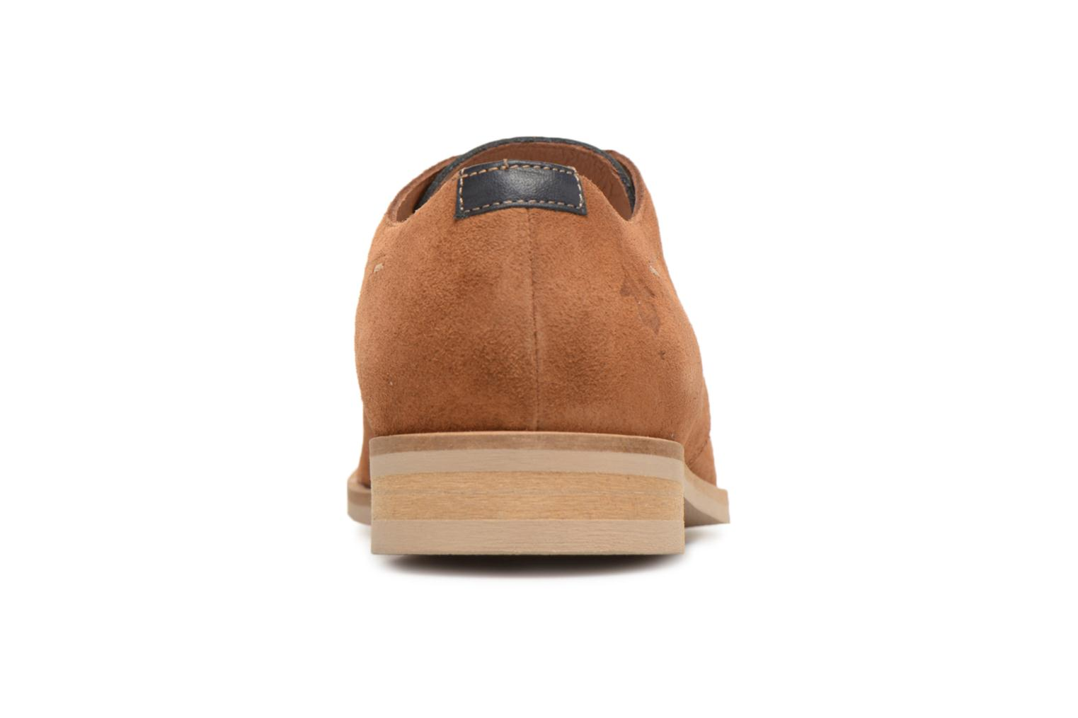Lace-up shoes Kost Acteur 5A Brown view from the right