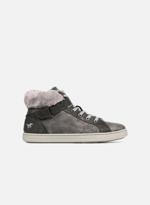 Sneakers Mustang shoes 5042604 Kinder High Top Sneaker Grå se bagfra