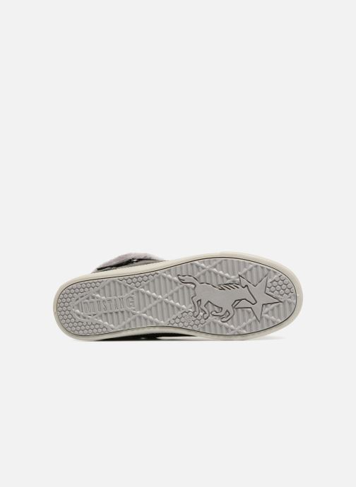 Baskets Mustang shoes 5042604 Kinder High Top Sneaker Gris vue haut