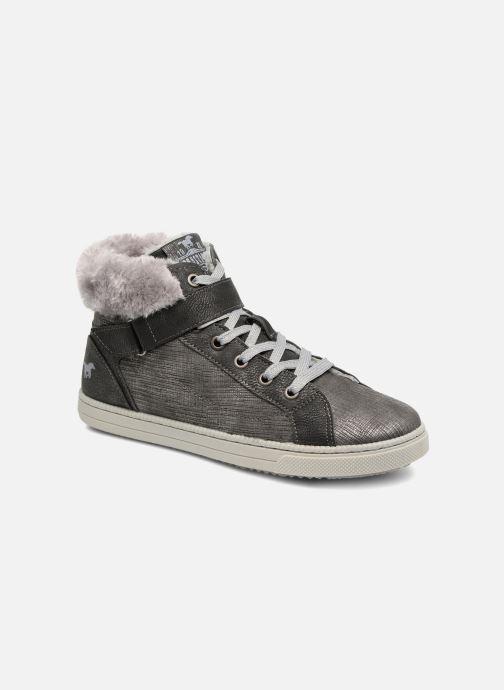 Baskets Mustang shoes 5042604 Kinder High Top Sneaker Gris vue détail/paire