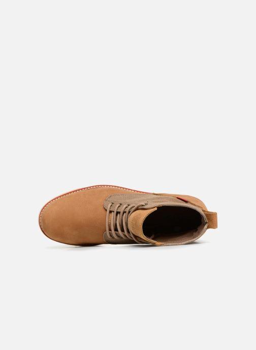 Boots en enkellaarsjes Levi's Jax Light Bruin links