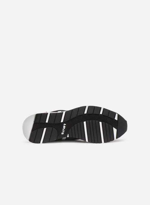 Baskets Levi's Almayer Lite Noir vue haut