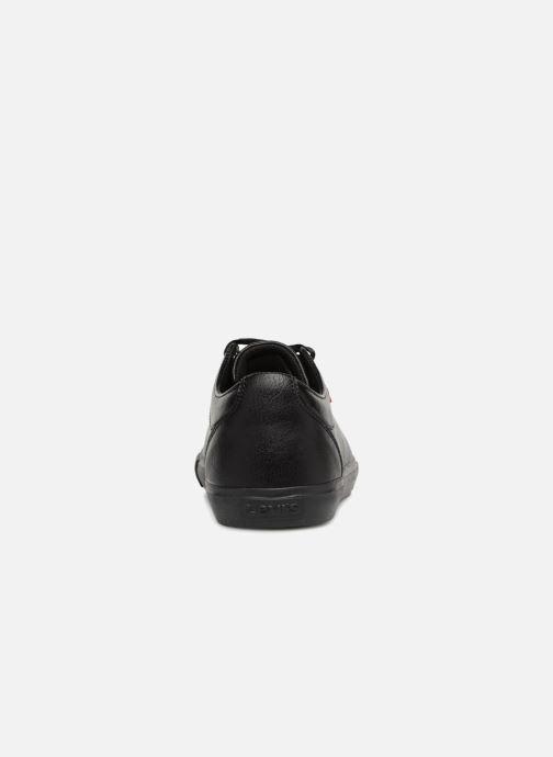 Sneaker Levi's Woods W schwarz ansicht von rechts