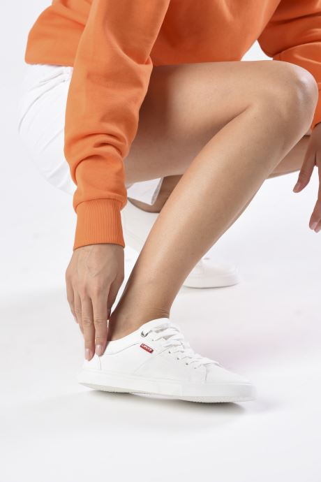 Sneakers Levi's Woods W Bianco immagine dal basso