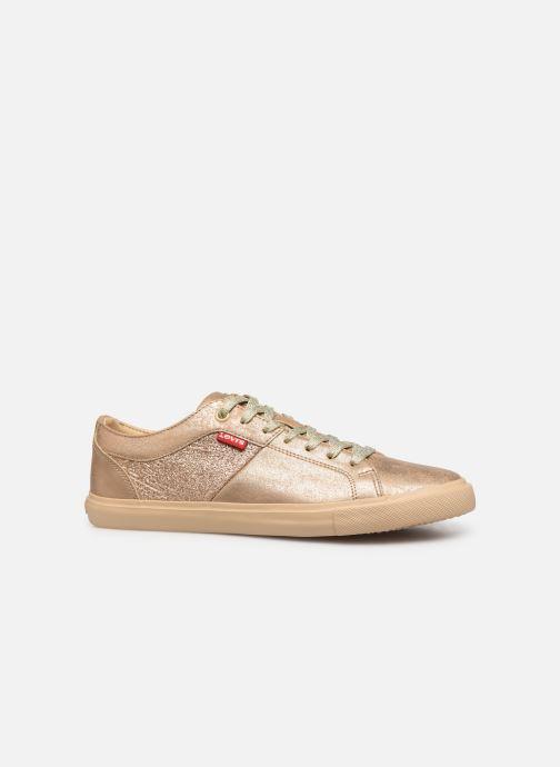 Sneakers Levi's Woods W Guld og bronze se bagfra