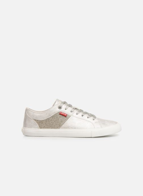 Sneakers Levi's Woods W Wit achterkant