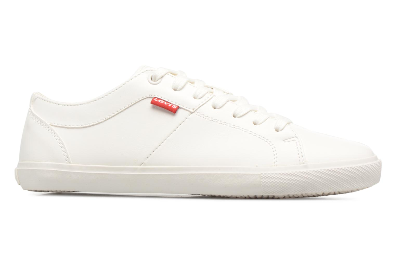 Sneakers Levi's Woods W Wit achterkant