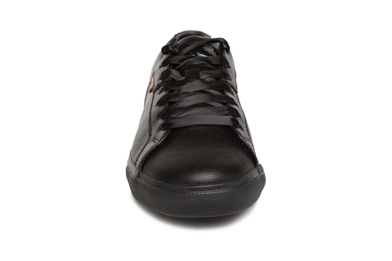 Sneaker Levi's Woods W schwarz schuhe getragen
