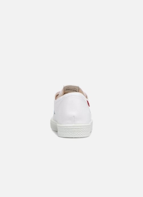 Baskets Levi's Malibu S Blanc vue droite