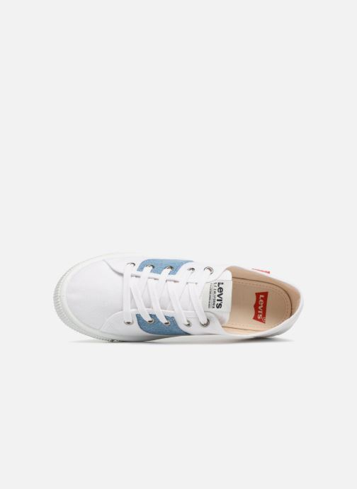 Trainers Levi's Malibu S White view from the left