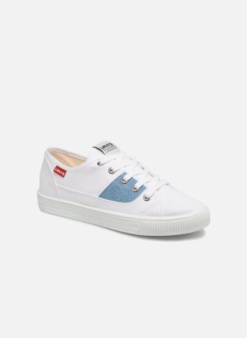 Trainers Levi's Malibu S White detailed view/ Pair view