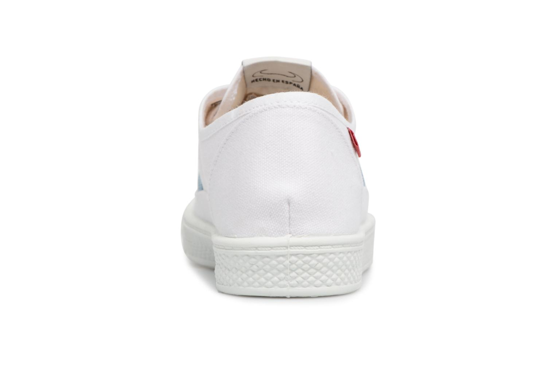 Sneakers Levi's Malibu Lady Patch Wit rechts