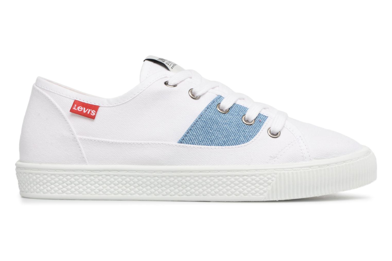 Sneakers Levi's Malibu Lady Patch Wit achterkant