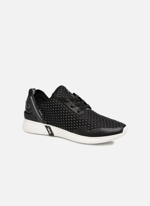 Deportivas Levi's Black Tab Sneaker Negro vista de detalle / par