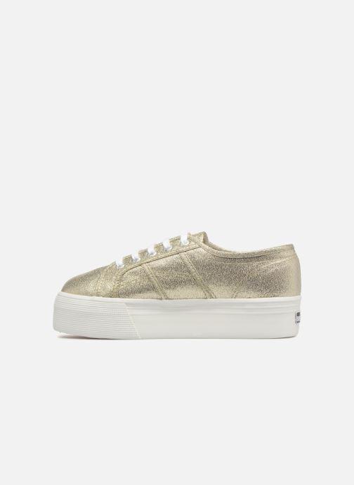 Sneakers Superga 2790 Lame W Oro e bronzo immagine frontale