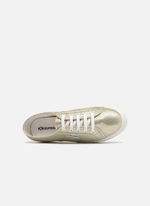 Sneakers Superga 2790 Lame W Oro e bronzo immagine sinistra