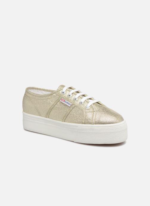 Sneakers Superga 2790 Lame W Oro e bronzo vedi dettaglio/paio