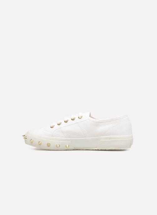 Sneakers Superga 2750 Studs Cot  Geraldina Wit voorkant