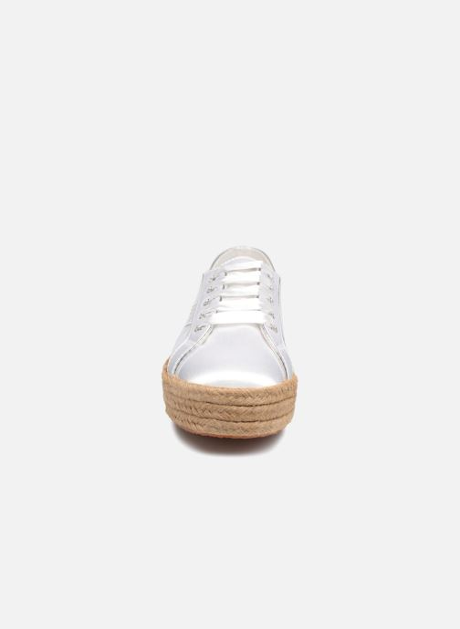 Espadrilles Superga 2730 Satin Cotme Wit model
