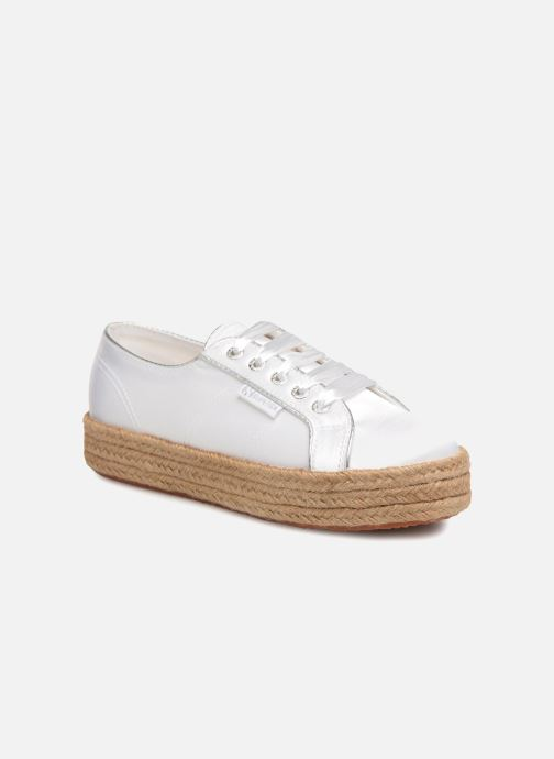 Espadrilles Superga 2730 Satin Cotme Wit detail