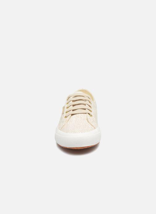 Baskets Superga 2750 Fantasyli Beige vue portées chaussures