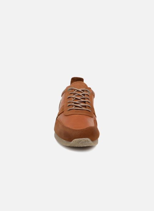Sneaker Kickers Olympei braun schuhe getragen