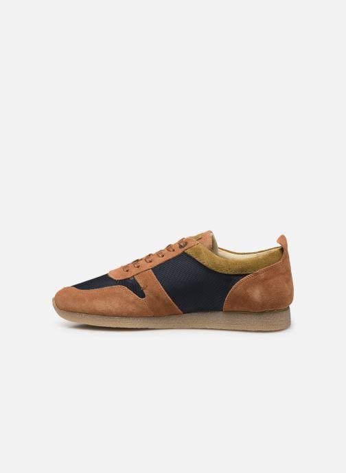 Sneakers Kickers Olympei Blå se forfra