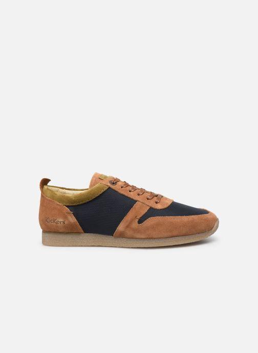 Sneakers Kickers Olympei Blå se bagfra