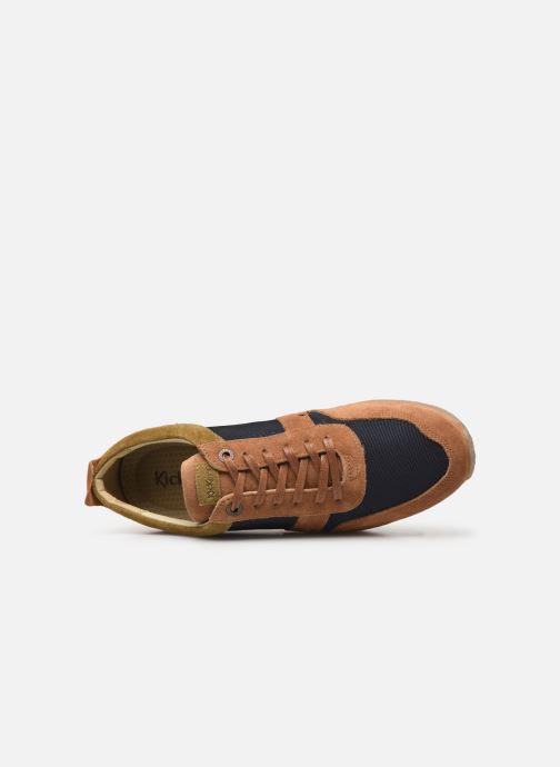 Sneakers Kickers Olympei Blå se fra venstre