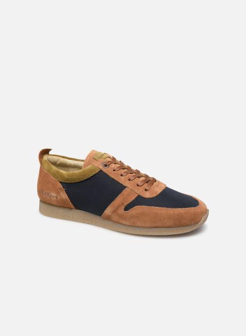 Sneakers Kickers Olympei Blå detaljeret billede af skoene
