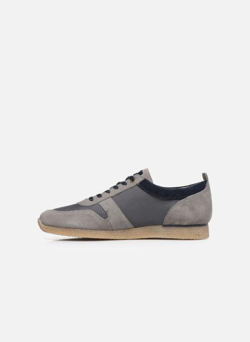 Sneakers Kickers Olympei Grå se forfra