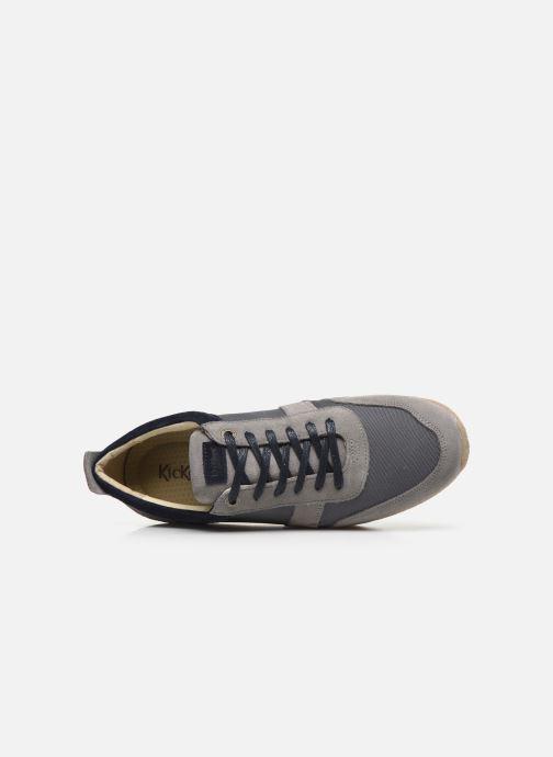 Sneakers Kickers Olympei Grigio immagine sinistra