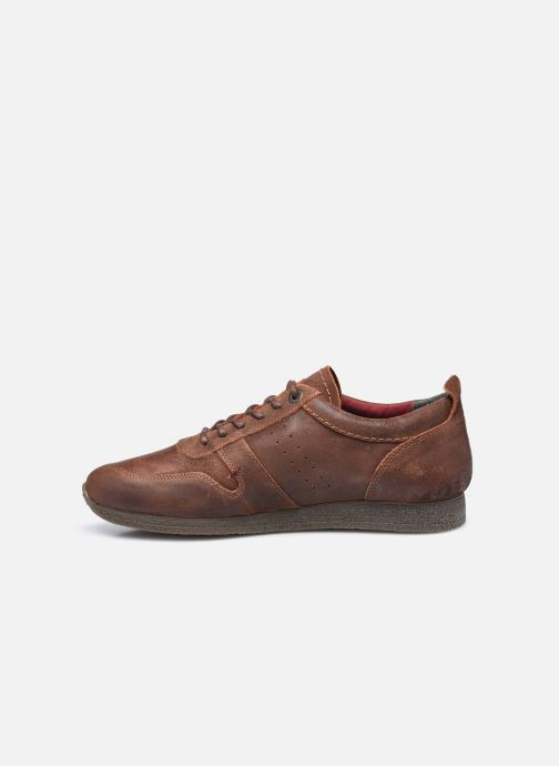 Sneakers Kickers Olympei Marrone immagine frontale