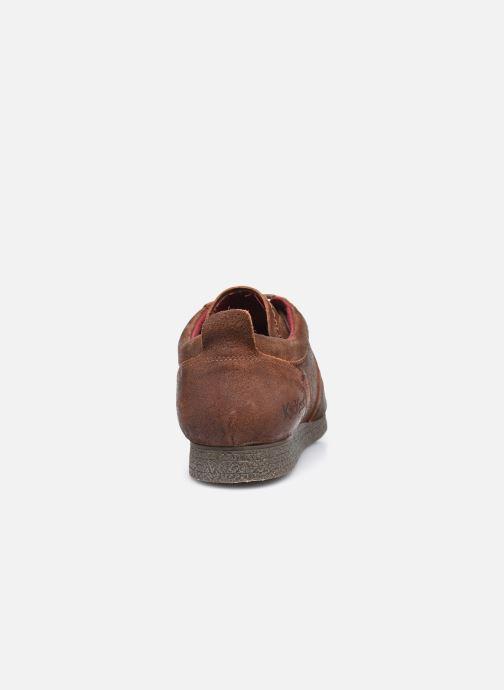 Sneakers Kickers Olympei Marrone immagine destra
