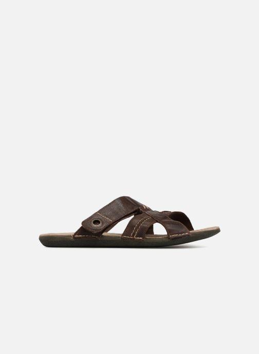 Sandales et nu-pieds Kickers Sparto Marron vue derrière