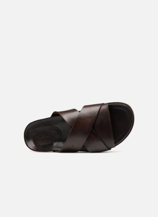 Sandales et nu-pieds Kickers Sandola Marron vue gauche
