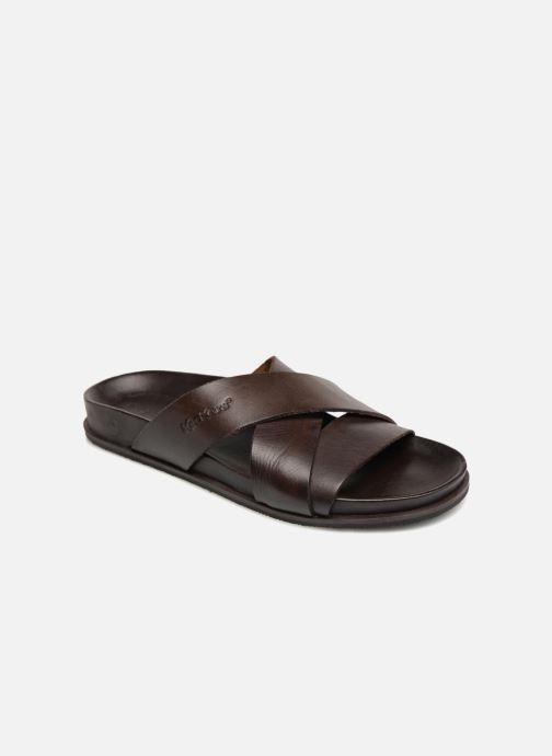 Sandales et nu-pieds Kickers Sandola Marron vue détail/paire