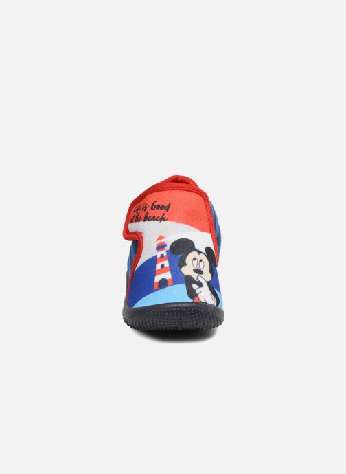 Chaussons Mickey Mouse Selam Mickey Bleu vue portées chaussures