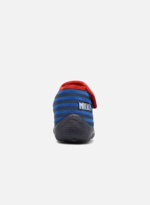 Chaussons Mickey Mouse Selam Mickey Bleu vue droite