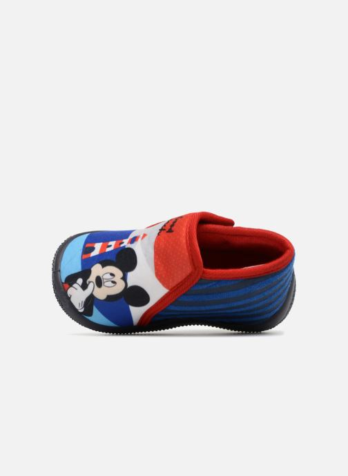 Chaussons Mickey Mouse Selam Mickey Bleu vue gauche