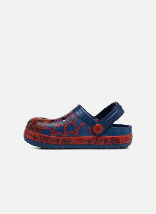 Sandals Spiderman Direct Blue front view