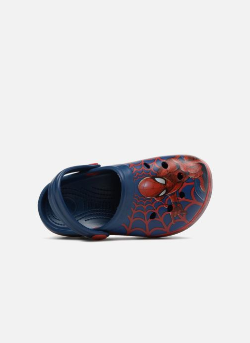 Sandales et nu-pieds Spiderman Direct Bleu vue gauche