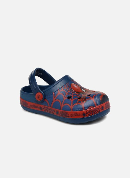 Sandals Spiderman Direct Blue detailed view/ Pair view