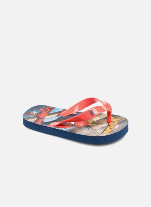 Slippers Spiderman Dispo Rood detail