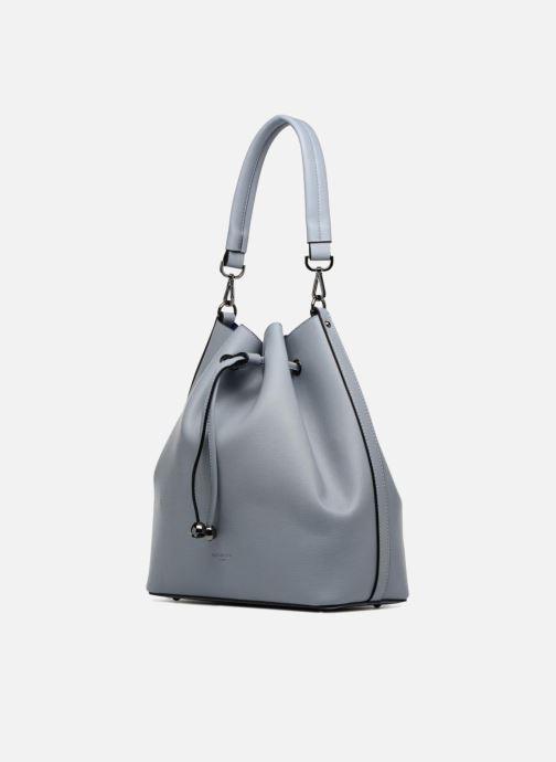 Handtaschen Hexagona Seau Riviera grau schuhe getragen