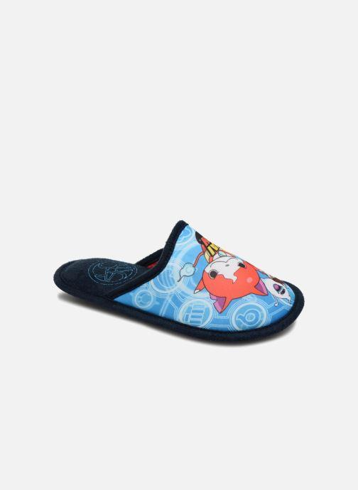 Pantuflas Yo-Kai Watch  Sisco Azul vista de detalle / par