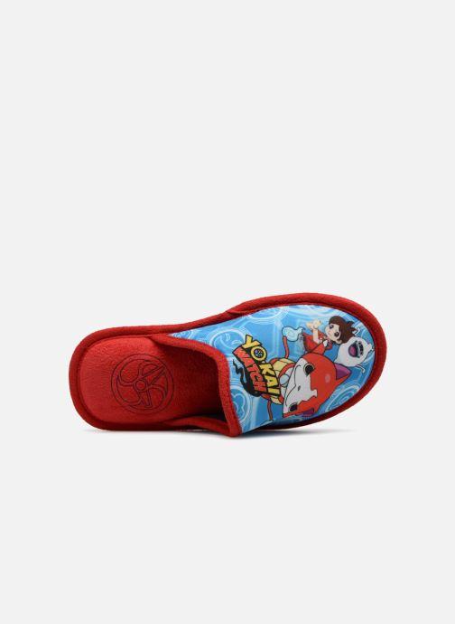 Hausschuhe Yo-Kai Watch  Sisco rot ansicht von links